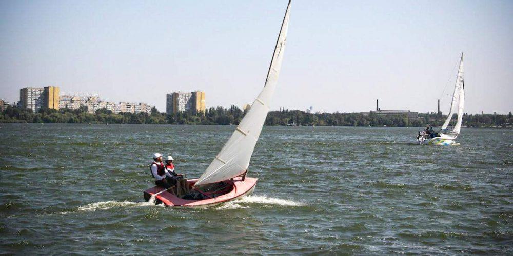 Мастер-класс на яхте олимпийского класса финн