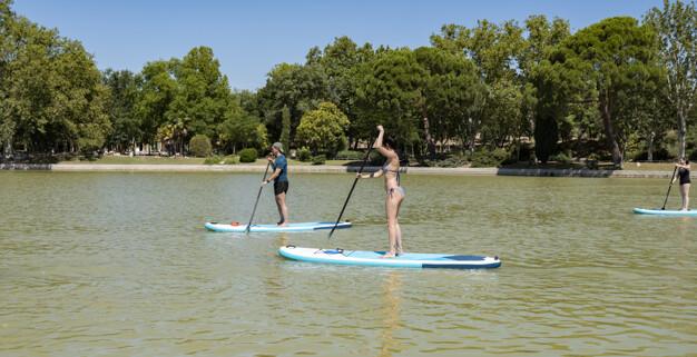 SUP-серфинг для двоих