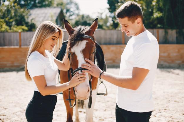 Прогулка на лошадях для двоих