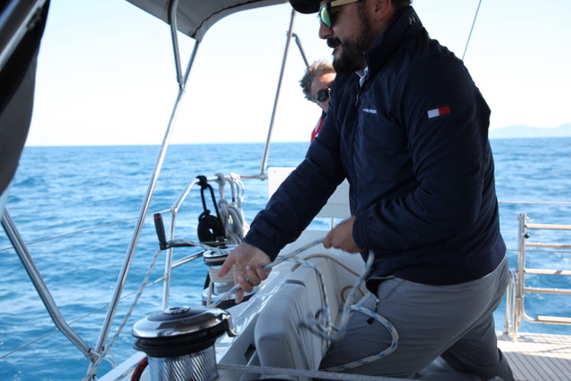 Мастер-класс управления парусной яхтой