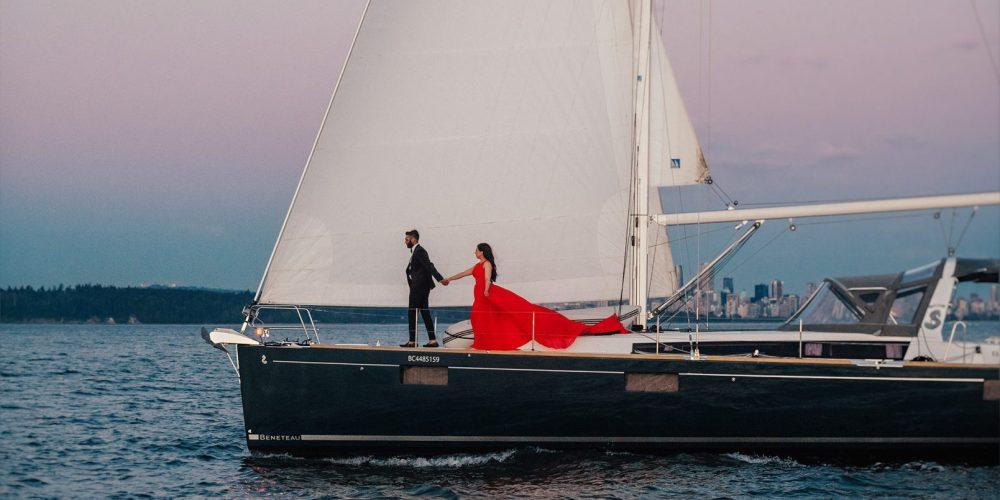 Романтическая ночь на VIP яхте