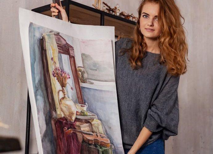 Абонемент на уроки живописи и рисунка для взрослых