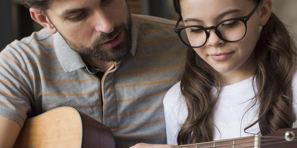 Индивидуальные уроки игры на гитаре