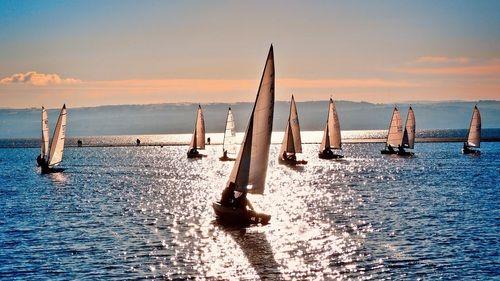 Регата на парусных яхтах