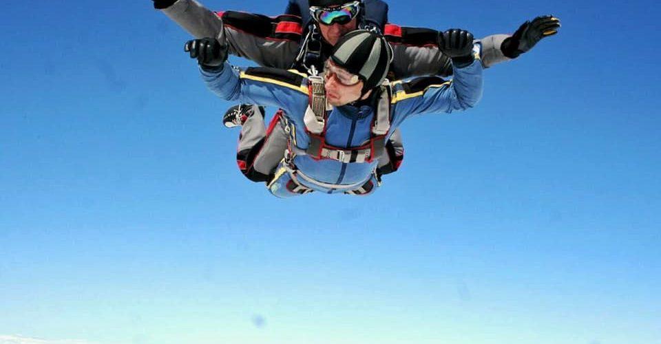 Тандем- прыжок с парашютом