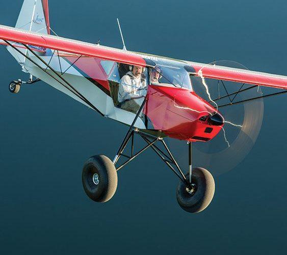 Полет на легком самолете
